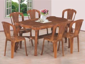 NEW PIYESTRA DINING TABLE CHAIR F