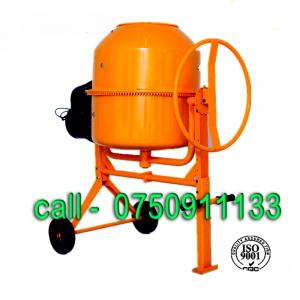 portable concrete mixer