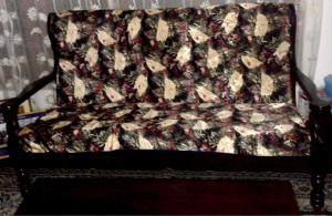 wodden settee for sale