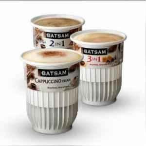 BATSAM Cappuccino & 3in1 Coffee