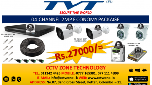 CCTV CAMERA PACKAGES