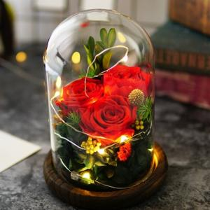 Real Preserved Flower decoration.