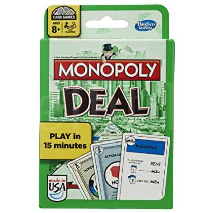 Monopoly Deal Card Game available for sale