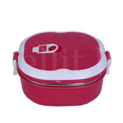 Stainless Steel Square Lunch Box 0.9L