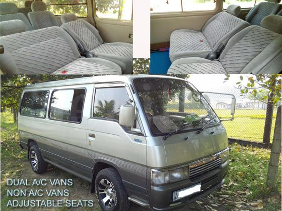 VAN FOR HIRE - KATHARAGAMA TRIPS - ROOM FACILITY FREE