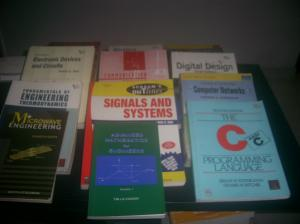 14 Text Books on Electronics & telecommunication Engineering