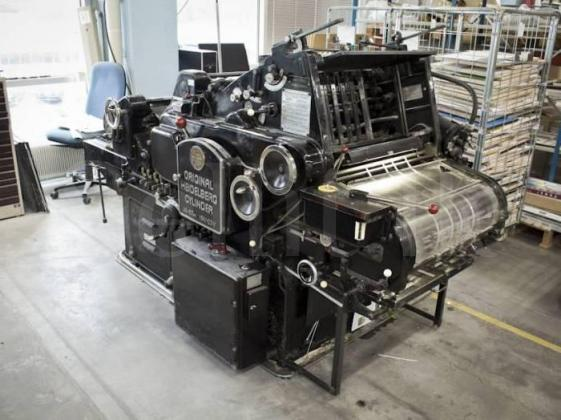 Heidelberg Die Cutting  Machine