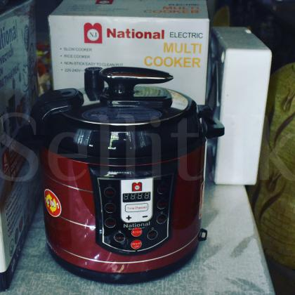 National Air fryer(brand new) FREE multi cooker with WARRANTY