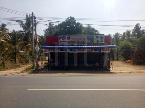 Potuhera at Colombo main road two shops are available for rent