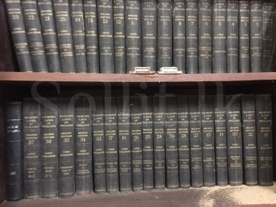 Collection of used Law Books
