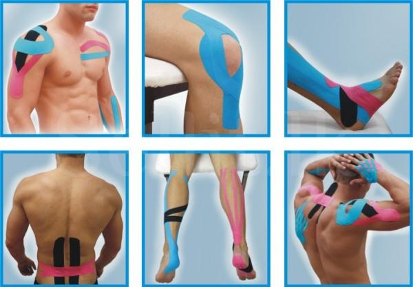 Sports tapping K-Tape