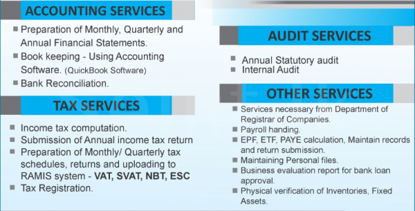 ACCOUNTING, AUDITING & TAX SERVICES