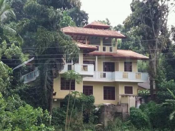 Land with Two Houses in Kandy