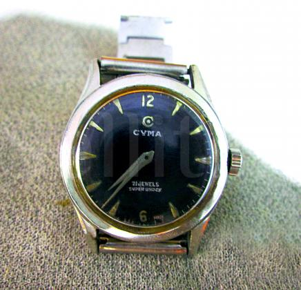 Rare CYMA Flex Swiss Wristwatch