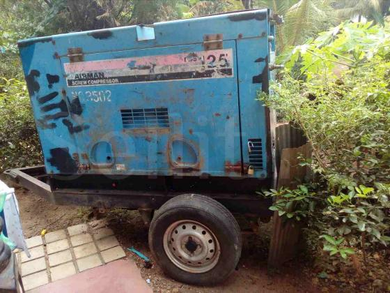 Airman pds 125 Super silent compressor for sale in Galle