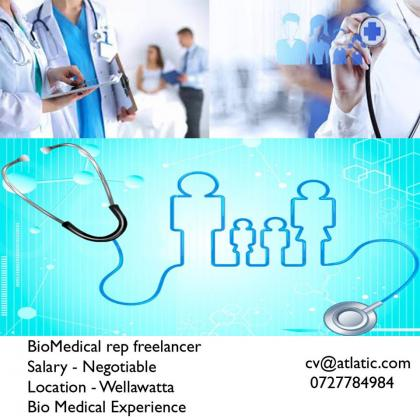 Bio Medical rep freelancer