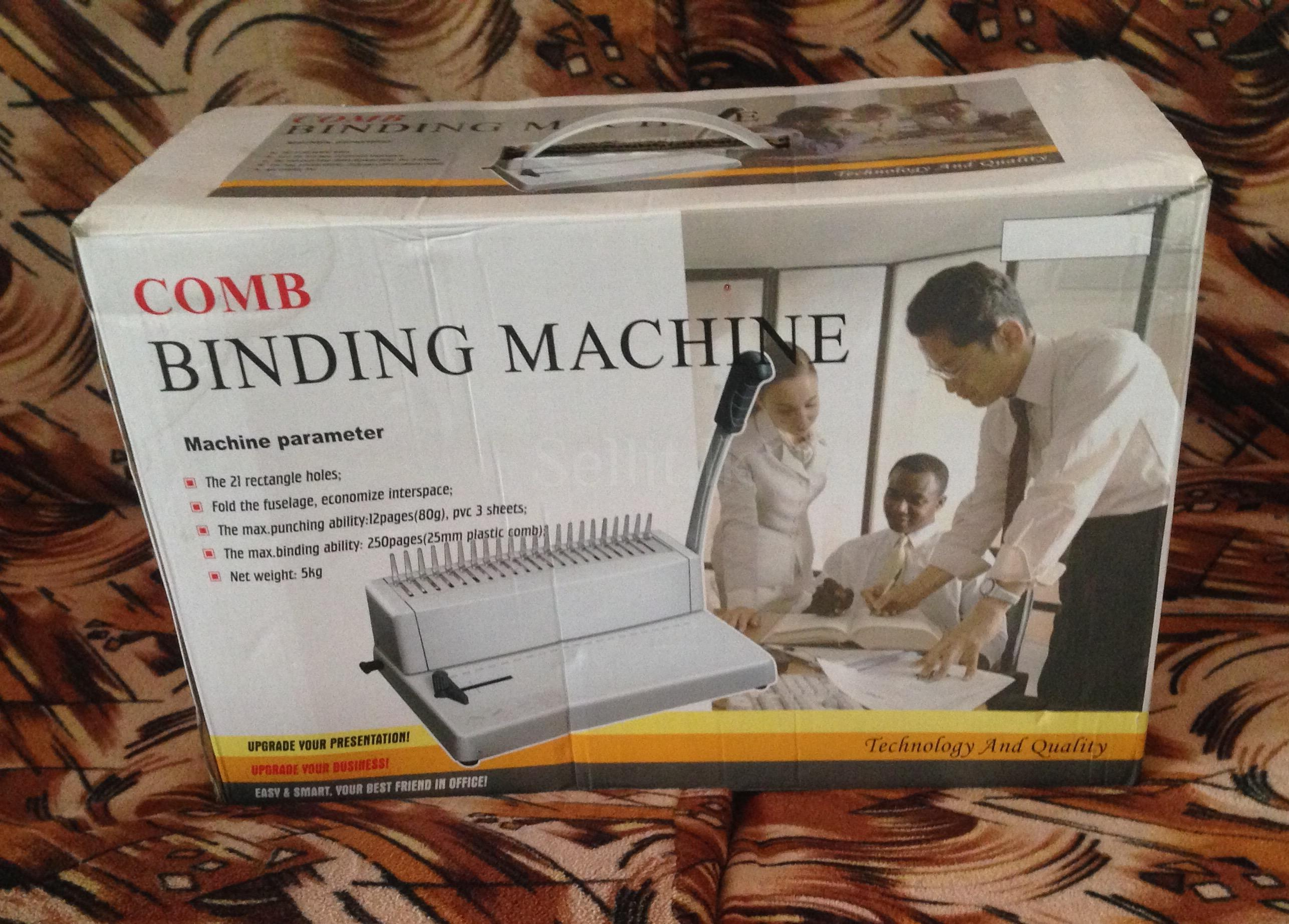 Other Items - Comb spiral binding machine