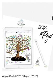 Apple iPad 6th gen (9.7) 2018