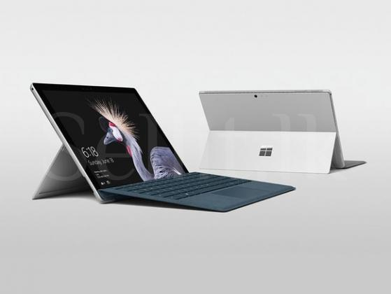 Microsoft Surface Pro 4 Tablet + Keyboard + Two S-Pens