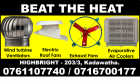 Hot air Exhaust fans srilanka, Roof exhaust fan, Wall exhaust fan , Air coolers srilanka   air venti