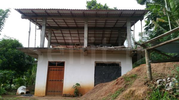 Partially Completed Tow Story house for sale - Kandy