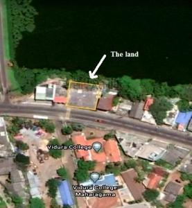 Code 3130 land with building for sale maharagama