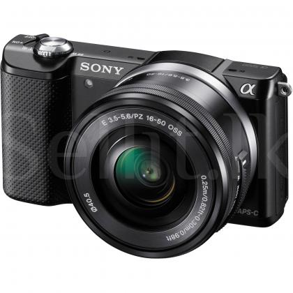 Sony alpha a5000 mirreles 16-50mm lens