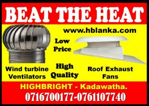 turbine ventilators srilanka, VENTILATION SYSTEMS SRILANKA ,roof exhaust fans, wind turbine ventilat
